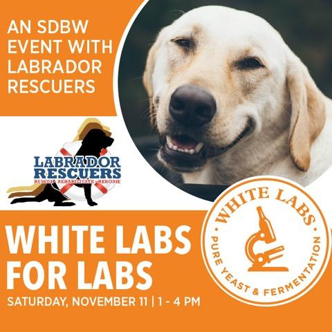 White Labs for Labs – Saturday, November 11