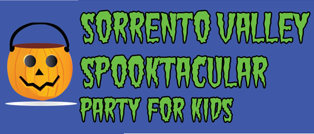 Sorrento Valley Spooktacular Party for Kids – Oct 31