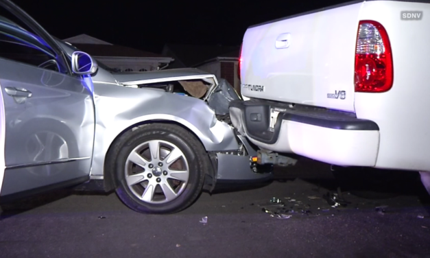 NBC7: Police Chase Ends in Crash in Mira Mesa