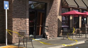 Fox 5: Pickup Crashes into Chick-fil-A