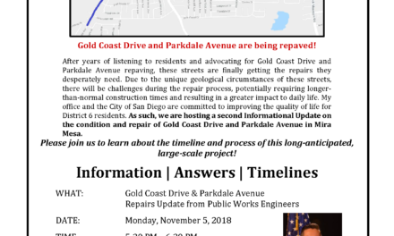 Gold Coast and Parkdale Repairs Update Meeting