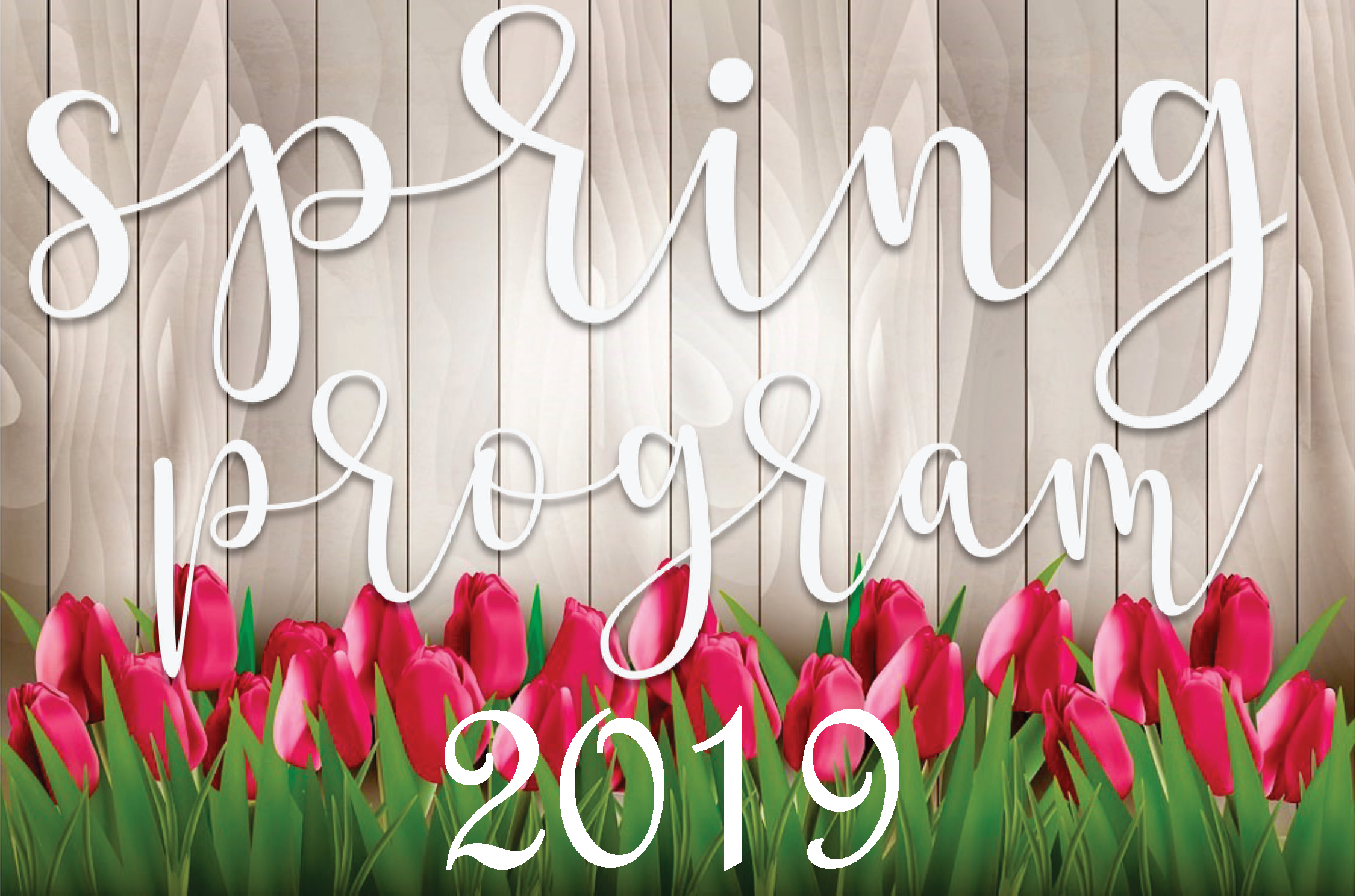 Spring 2019 Recreation Calendar