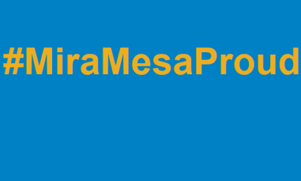 """#MiraMesaProud – """"We Have To Be The Change"""""""